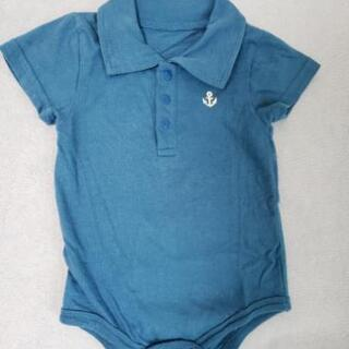 ポロシャツ風ボディスーツセット