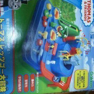 トーマスレッツゴー大冒険。おもちゃ。中古品。無料。条件付き。
