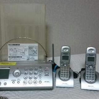 パナソニック おたっくす ファックス 家庭用 電話 FAX