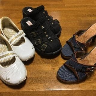 プーマ靴 ミュール サンダル Mサイズ