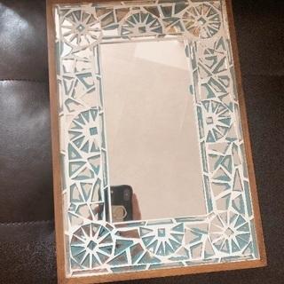 インテリア*鏡アンティークミラー