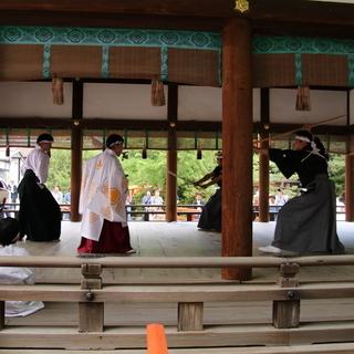 世界遺産である京都下鴨神社で柳生新陰流を披露しませんか?久武館道場(^^)/~~~ - 日本文化