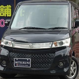 ⭐パレット入庫⭐🚗自社ローン専門店🚗パレットSW XS ブラック