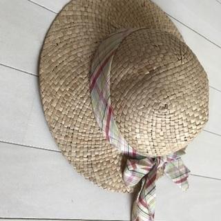 麦わら帽子 サイズ48センチ