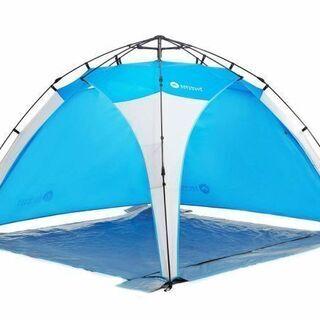 新品のテント4人用 日よけテント 海水浴に
