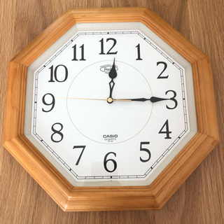 CASIO 壁掛け時計 シンプル