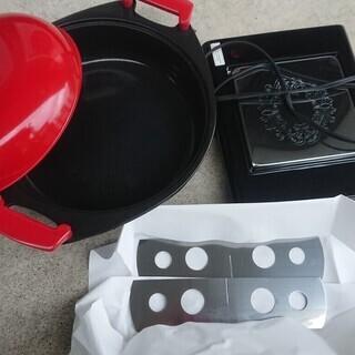 鍋と保温トレーのセット