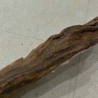 大きな流木 100㎝ インテリア DIY アンティーク風オブジェに /④ - 家具