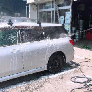 手洗いグロス洗剤洗車🔍タイヤショップエイティーン