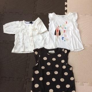女児 夏服&レインコート 90サイズ