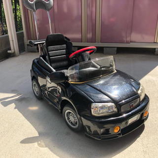 R34スカイライン GTーR ペダルカー