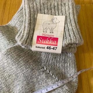 北欧、フィンランドの靴下