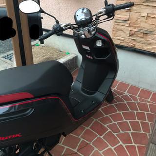 原付きバイク (Honda Dank)