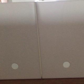 ニトリファイルボックスワイド2個