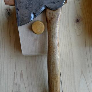 日本にない3役機能の小型手斧 スタンレー社特製