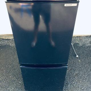 488番 SHARP✨ノンフロン冷凍冷蔵庫❄️SJ-14R-B‼️