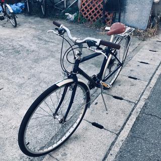 試運転良好、PEUGEOTクロスバイク、変速2×6、タイヤ700...