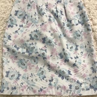 プロポーション 花柄スカート