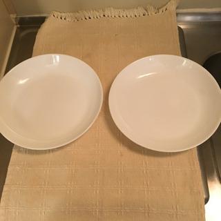 山崎パンのお皿2枚