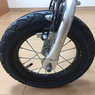 へんしんバイク 中古品 ブルー (園児用自転車)