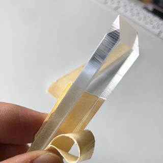 透明アクリル材 15センチ 20センチ 両端45度カット品
