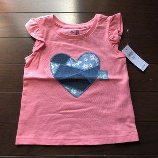 新品未使用  baby Gap  フリル袖Tシャツ  90㎝