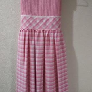 【新品同様】女児ワンピース(ピンク)海外ブランド