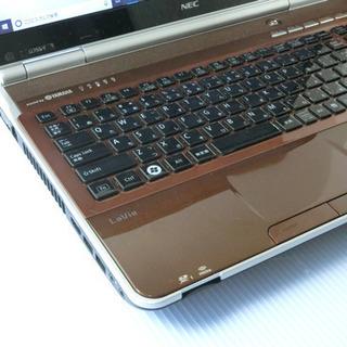 NEC LL750/F 8GB 新品SSD240GB クリスタルブラウワン - 柏市