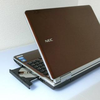 NEC LL750/F 8GB 新品SSD240GB クリスタルブラウワン − 千葉県