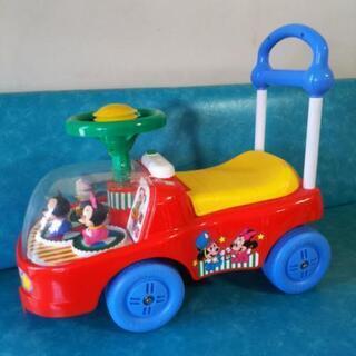 ディズニー 手押し車 乗用玩具