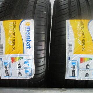 未使用タイヤ membat 205/50ZR17 2本セット