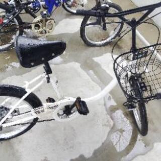 自転車 ミニチャリ