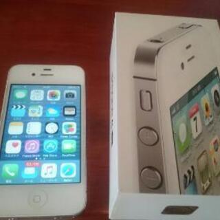 iphone4s softbank 32g 1000円または交換で。
