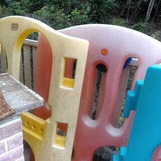 ❗庭で遊べるジャンボ滑り台❗