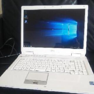 新品SSD! 富士通 FMV-BIBLO NF/B70 Win1...
