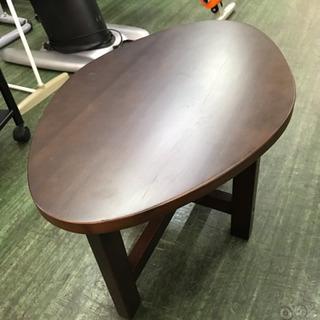 テーブル 座卓 60 ブナ材 ★78899 ブラウン