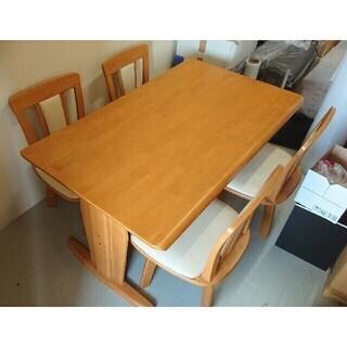 ダイニングテーブル 椅子4つ セット