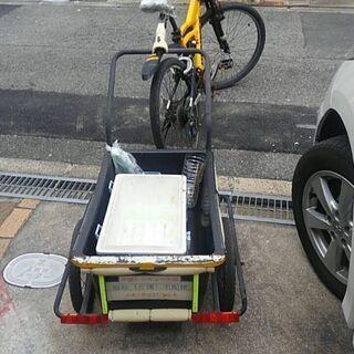 ペット輸送サイクルトレーラー製作