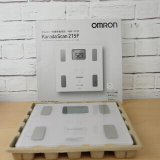 【未使用】omron 体重体組成計 カラダスキャン HBF-21...