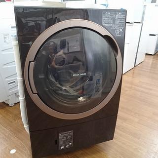 TOSHIBA 東芝 ドラム式洗濯機 TW-117X5L 2017年製