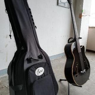 エレアコベースギター5弦フレットレス - 新潟市