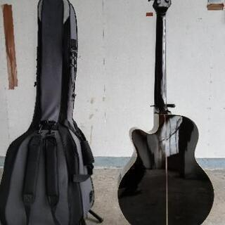 エレアコベースギター5弦フレットレス - 楽器