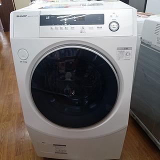 SHARP ドラム式洗濯機 洗濯10kg・乾燥6kg ES-H10...
