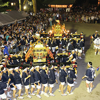 大阪市内神社夏祭り運営スタッフのお手伝い