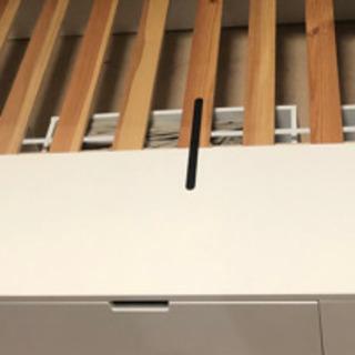 IKEA 収納付きSDベッド 使用感ほぼなし