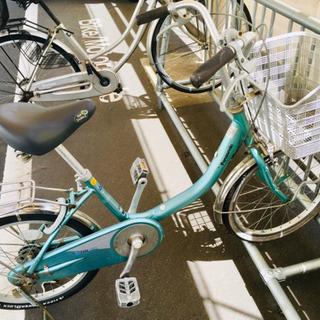 パナソニックの自転車 子供用ではないけど小さいです