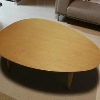 【美品】たまご型ローテーブル(ちゃぶ台) 定価5万円以上