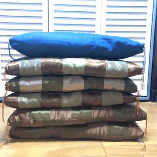 仏壇用座布団 6枚 大きくて厚い座布団
