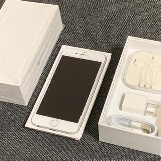 [値下げ]ピカピカ美品 iPhone 6 Silver 16 G...
