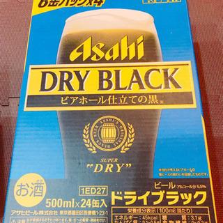 アサヒ ドライブラック 500ml 1ケース 24缶入  - 福井市
